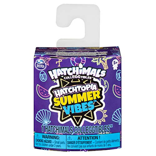 Hatchimals CollEGGtibles, Hatchtopia Summer Vibes 1-Pack, for Kids Aged 5 and Up (Styles May Vary)