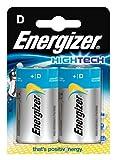 Energizer Original Batterie Hightech Mono D (1,5 Volt, 2-er