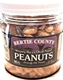 Bertie County Peanuts - Weeping Marys Ghost Pepper Hot and Spicy Peanuts - 10 Ounce Jar - Made From Blister Fried Peanuts