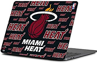 Skinit Decal Laptop Skin for MacBook Pro 13-inch (2016-17) - Officially Licensed NBA Miami Heat Blast Design