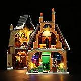 LocoLee Kit de luces LED para Lego 76388 Harry Potter Hogsmeade Village, juego de luces compatible con Lego 76388 (juego de luces LED solamente, sin modelo Lego)