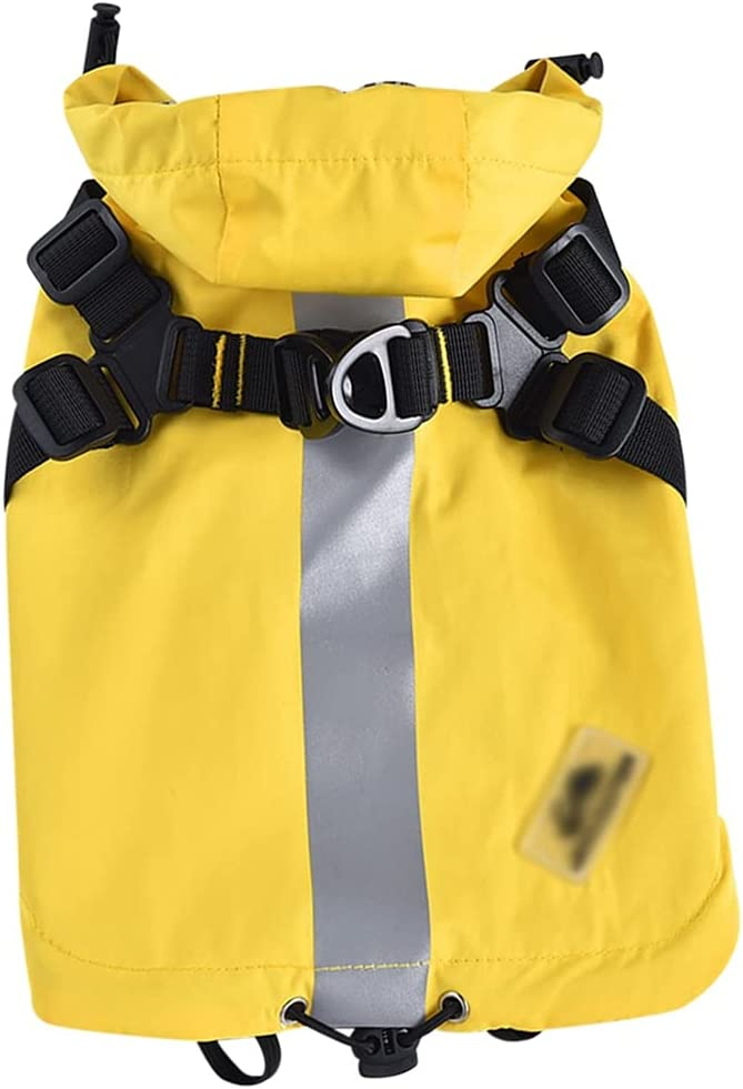 LOYY 2 in 1 Pet Sling Import Hoodie with Raincoat Reflective Strips Discount mail order