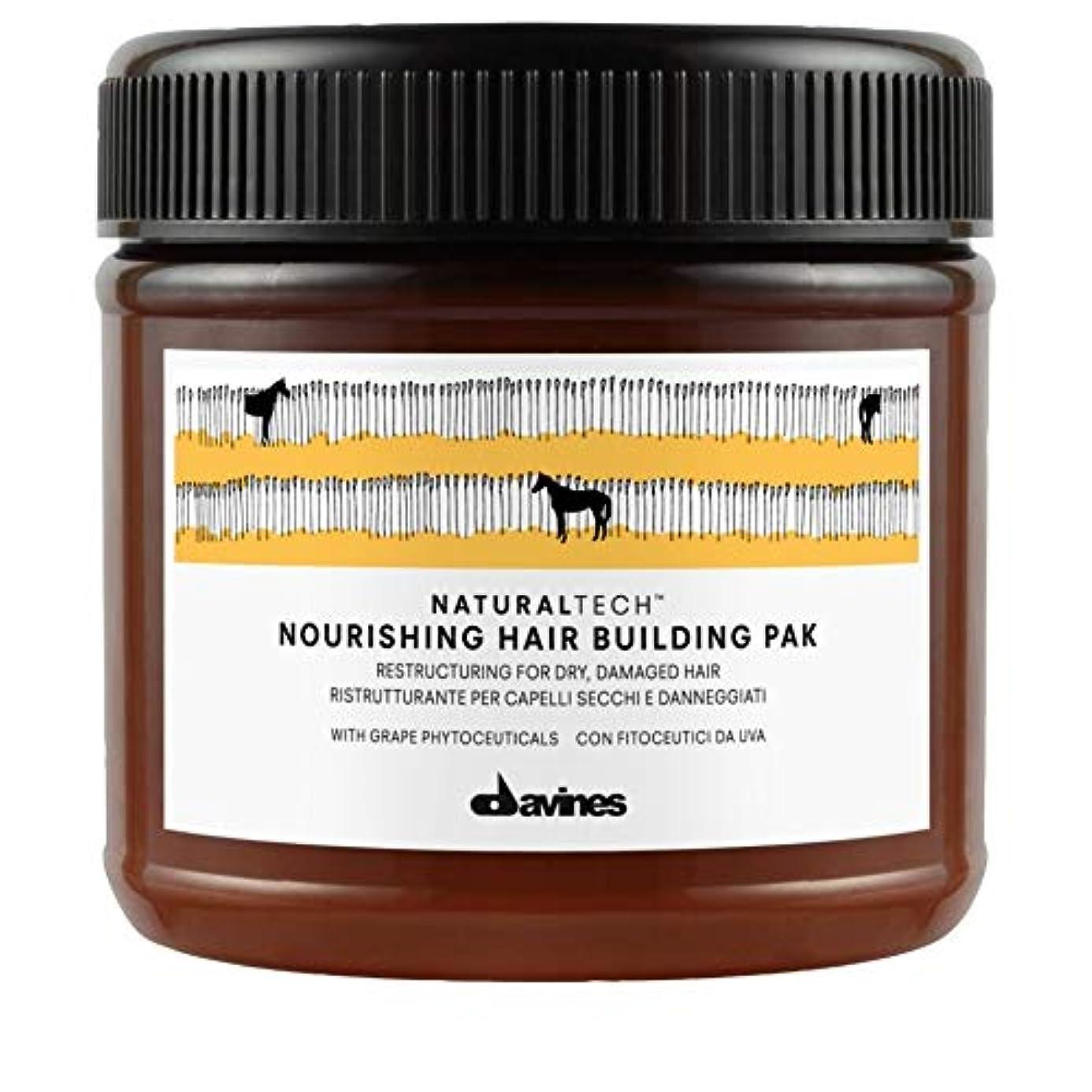 かんがい食事を調理するペネロペ[Davines ] Pak 250ミリリットルを構築ダヴィネス栄養髪 - Davines Nourishing Hair Building Pak 250ml [並行輸入品]
