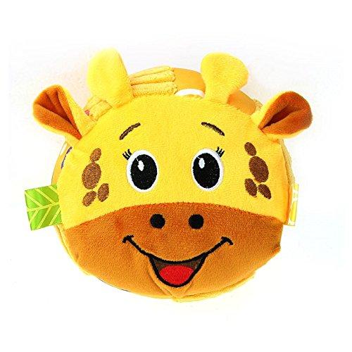 Weekendy Jouet drôle de bébé Bébé Belle Girafe Douce Main hochets Bell Enfants bébé Funnny Rampant Bell Balle Jouet Cadeau