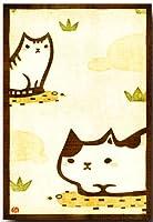 猫のイラスト ポストカード 「猫」 ねこの絵葉書 和道楽