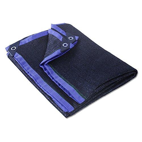 HUO Fil Résistant UV De Tissu D'ombre pour L'usine De Fleur De Jardin (Couleur : Noir, Taille : 5 * 5m)