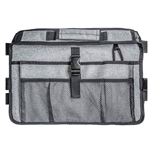 Hellery Rollstuhl Tasche Seitentasche Aufbewahrungstasche Armlehne Organizer für Rollstühle, mit 10 Taschen