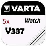 VARTA KNOPFZELLEN 337 SR416SW (5 Stück, V337)