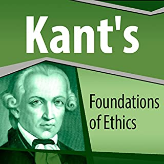 Kant's Foundations of Ethics audiobook cover art