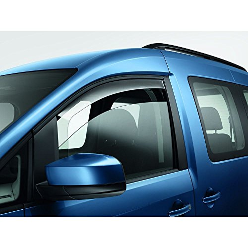 Volkswagen 2K0072193B Tür Windabweiser vorn rechts+Links rauchgrau Regenabweiser