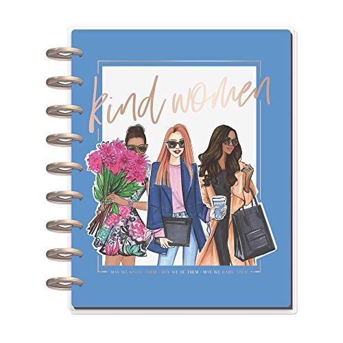 The Happy Planner - Kind Women Rongrong Theme - July 2020 to December 2021 - Vertical Layout - Weekly & Monthly Disc-Bound Pages - Scrapbook - Classic Size