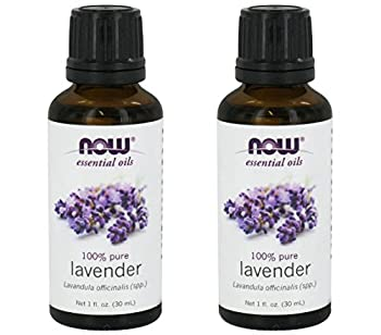 Now Foods Lavender Essential Oil - Twinpack!  2 1oz Ounce Bottles  NOT Organic