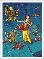 ポスター ジェームス フレームス Mondo Snow White 白雪姫 Cyclops Print 限定305枚 手書きナンバリング入り 額装品 ウッドハイグレードフレーム