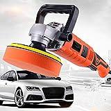 miss-an Auto Polierer Kit, Mini Poliermaschine 220V Orbital Polierer, Dual Action Auto Buffer Kit mit Selbstklebender Wolle Radscheibe und Inbusschlüssel