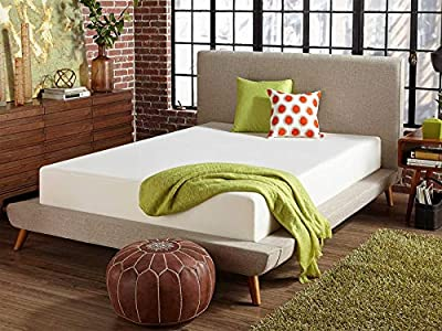 Live and Sleep - Resort Classic New 12-Inch Cooling Medium Firm Memory Foam Mattress and Pillow