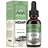 Hemp Pure Oil, Natural Ingredients,Omega 3-6-9 New Formula (30ML 15000MG)