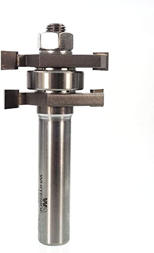 lowest Whiteside Router Bits 3375 Tongue and Groove Assembly with 1-5/8-Inch Large Diameter and 1/2-Inch to lowest 13/16-Inch outlet online sale Cutting Length sale