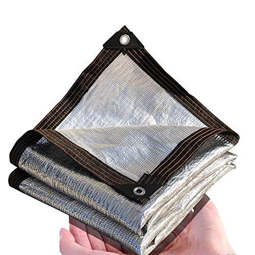 YXX-Filet d'ombrage Toile de Stores En Aluminium pour Plantes de Jardin et Auvent de Pergola - 95% De Stores À Effet De Serre Sunblock, Auvents Extérieurs pour Terrasse (Size : 4m×5m)