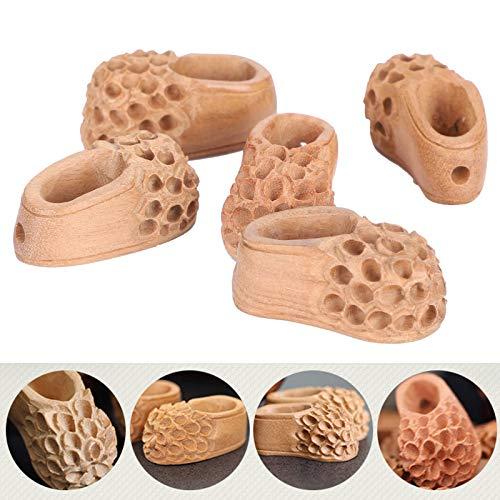 Zapatos Colgante de Madera, Colgante de joyería Tallado en Madera, Práctico de Madera para los Amantes de los Amigos Amantes