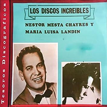 Los Discos Increibles: Néstor Mesta Chayres y María Luisa Landín
