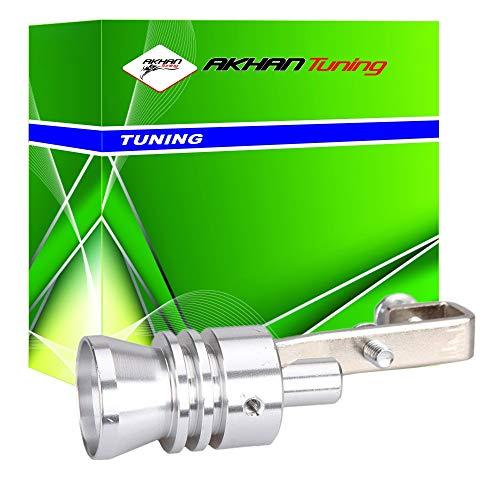 akhan 60071–Silbato de escape 'Turbo', para endrohre 32–43mm Sonido de un turbomotor