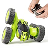 Tecnock Stunt RC Car for Kids, 2.4Ghz 4WD Double Sided Flips 360°Rotating Remote