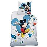 Disney–Juego, 100% algodón, Blanco, 140x 200+ 63x 63