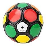 Atyhao Ballon de Football pour Enfants, Football de Dessin animé de Ballon de Sport pour Enfants de 5,1 Pouces pour Les Tout-Petits Filles garçons Enfants école Maternelle(Coloré)