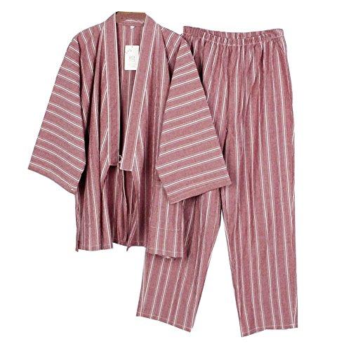 Fancy Pumpkin [Talla L, Rojo] -Muebles Estilo Japonés Kimono Pijama Traje Vestido Conjunto
