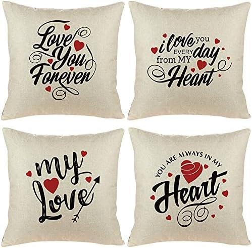 Garden Decoration Throw Pillow Case Fabric Print Wholesale Day Valentine's Rare