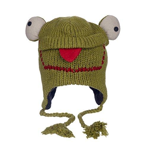 Frog Handmade Wool Hat