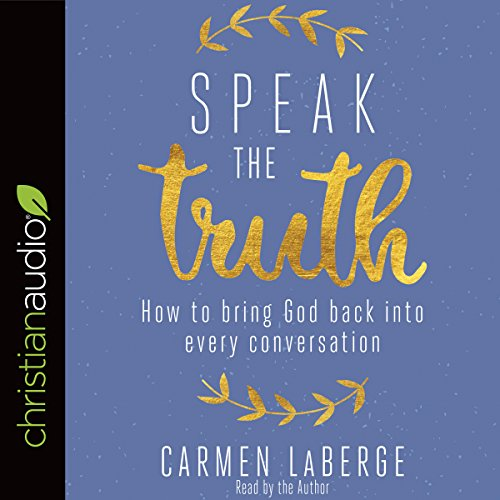 Speak the Truth audiobook cover art