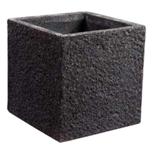 Pot haut (Tower Cube Jeu de 4) (fibre de ciment-color léger Anthracite)