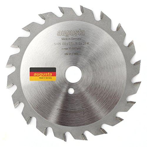 Augusta 051301620–Robusto multiusos de circular de metal duro, 130x 2, 5x 16con...