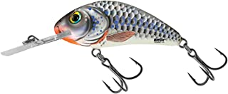 Salmo Rattlin Hornet 4.5 Floating, Silver Holographic Shad