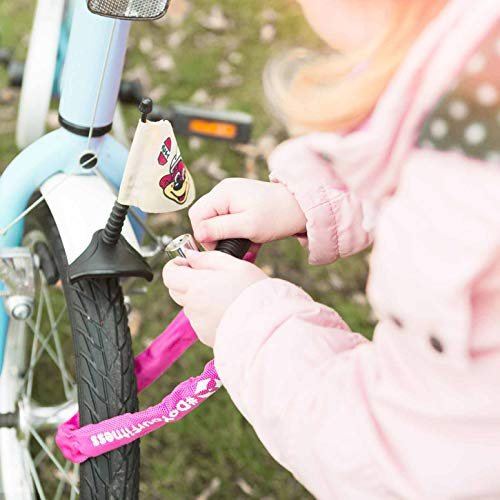 Fahrradschloss »Guardian« Sicherheitsschloss / Radschloss / Stahlgliederketten mit Schlüsseln zur Basisabsicherung - Inkl. 2 Schlüssel /ca. 60 cm lang, Durchmesser ca. 20 cm, Stärke ca. 3-4mm blau - 8