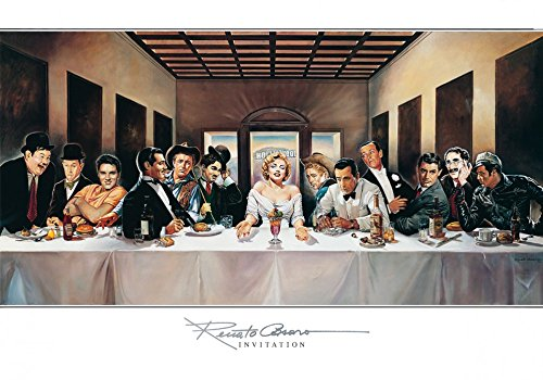 Renato Casaro Poster/Kunstdruck Invitation 100 x 70 cm