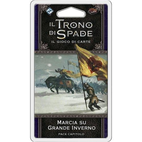 Asmodee Italia-Juego de Tronos LCG 2nd Ed. Expansión de marcha en invierno juego de mesa, color, 9238 , color/modelo surtido