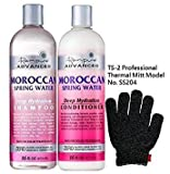 Renpure Shampoo and Conditioner with TS-2 Glove (Moroccan Spring Water)