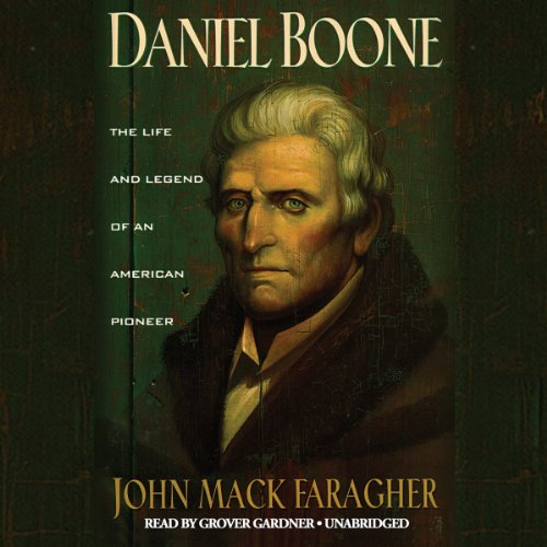 Daniel Boone audiobook cover art