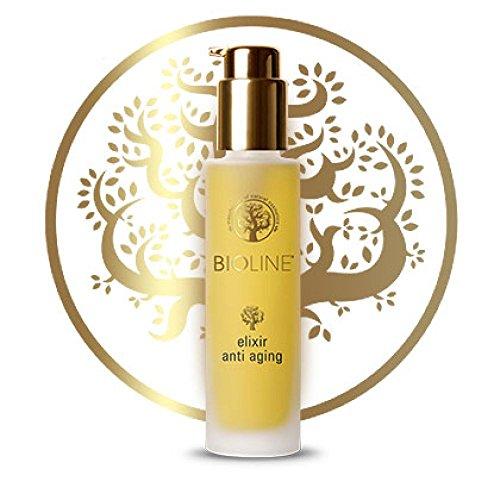 Bioline Elixir antiarrugas, la composición de tres aceites con un fuerte efecto antiarrugas.