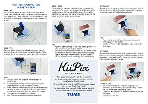 KiiPix Portable Photo Printer, Pink