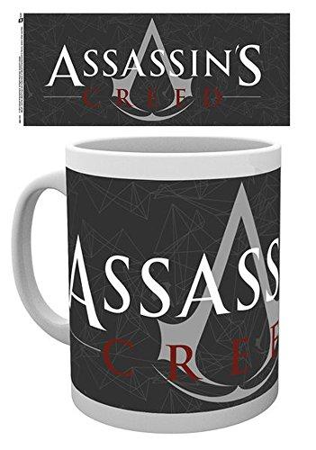 empireposter Assassins Creed - Logo - Keramik Tasse - Größe Ø8,5 H9,5cm