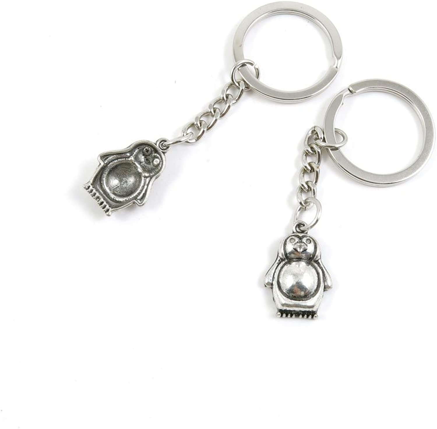 210 Pieces Fashion Jewelry Keyring Keychain Door Car Key Tag Ring Chain Supplier Supply Wholesale Bulk Lots Z2IN1 Penguin