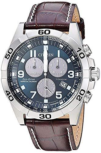 Citizen, orologio da uomo Eco-Drive Super Titanium BL5551-06L