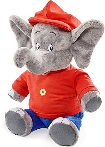 Schmidt Spiele 42251 The Elephant Benjamin Blümchen, Plüschfigur, 38 cm, bunt