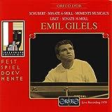 Schubert, Liszt. Emil Gilels