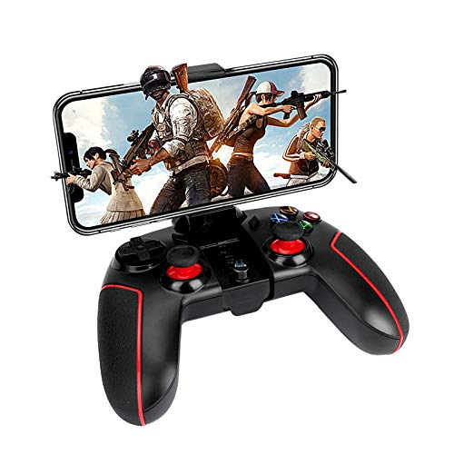 LINGSFIRE Controller Wireless Bluetooth/2.4G, Doppia Vibrazione, Call of Duty Mobile PUBG Mobile Controller di Gioco Senza Fili Bluetooth Controller per Android, IOS, PC, PS3, tablet, Nintendo Switch