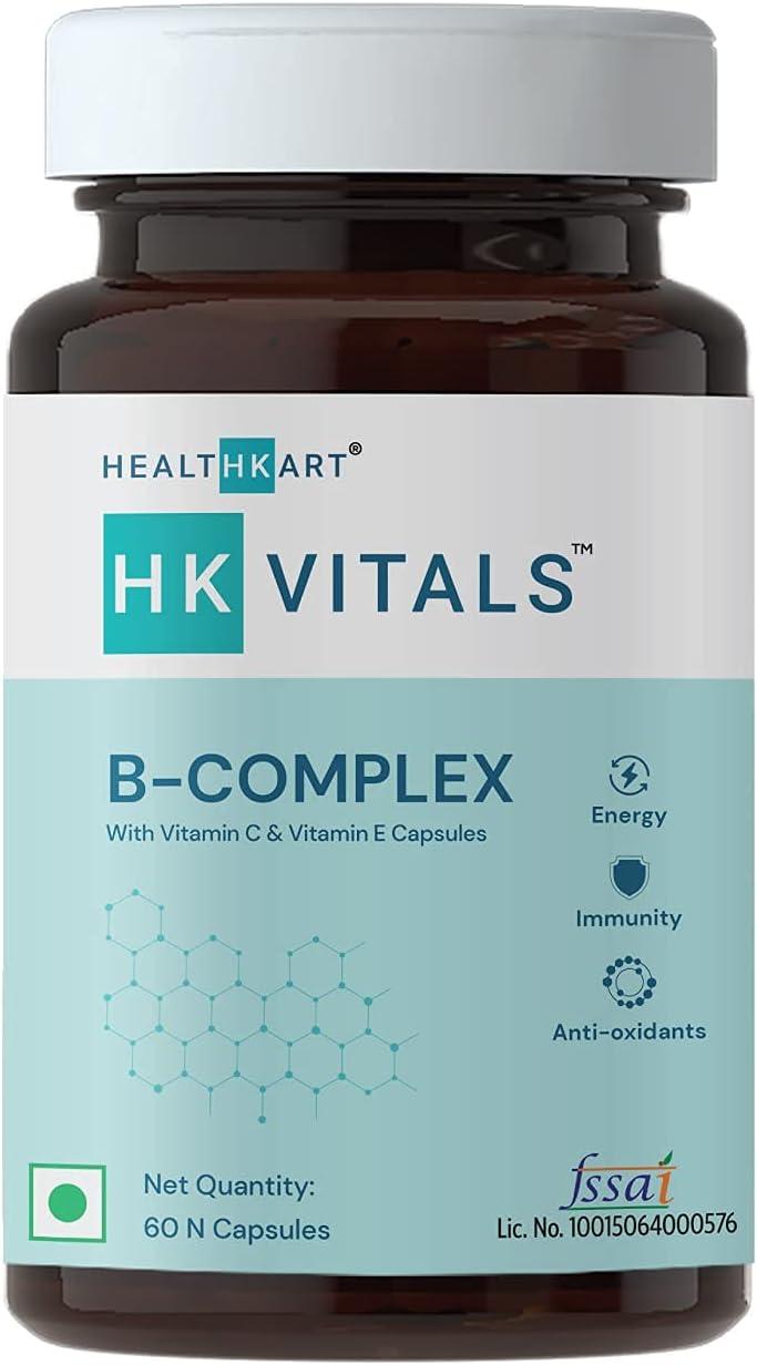 Organic Touch HealthKart B Sacramento Mall Complex B1 B12 Fashionable Tablets with Vitamins