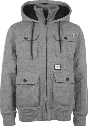 BILLABONG Herren Jacke The Grain, Grey Heather, S
